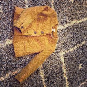 J.CREW jacket Mustard Yellow Size 00 Petite